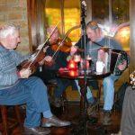 Música irlandesa en un pub